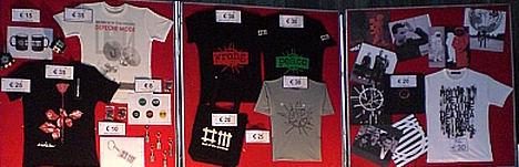 DM - Tour Of The Universe - Merchandising